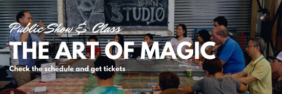 Public Show: The Art of Magic Class and Show